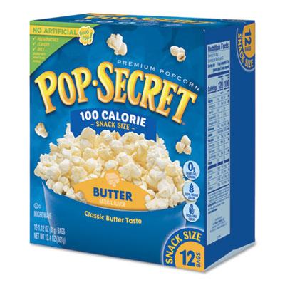 Pop Secret Microwave Popcorn, Butter, 1.2 oz Bags, 12/Box