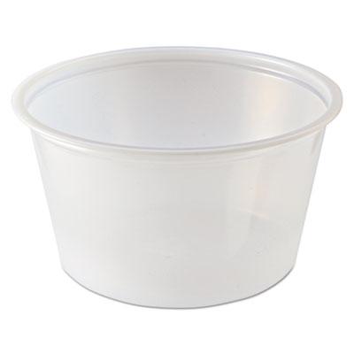 Portion Cups, 2 oz, Clear, 2500/Carton