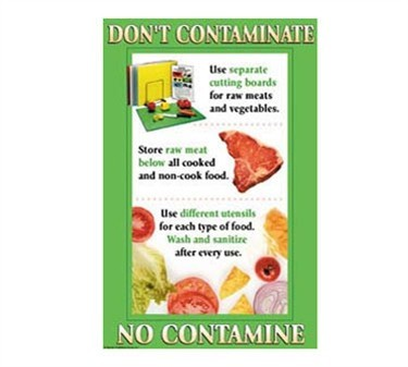 Poster, Don'T Contaminate