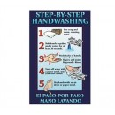 Poster,Step By Step Handwashng