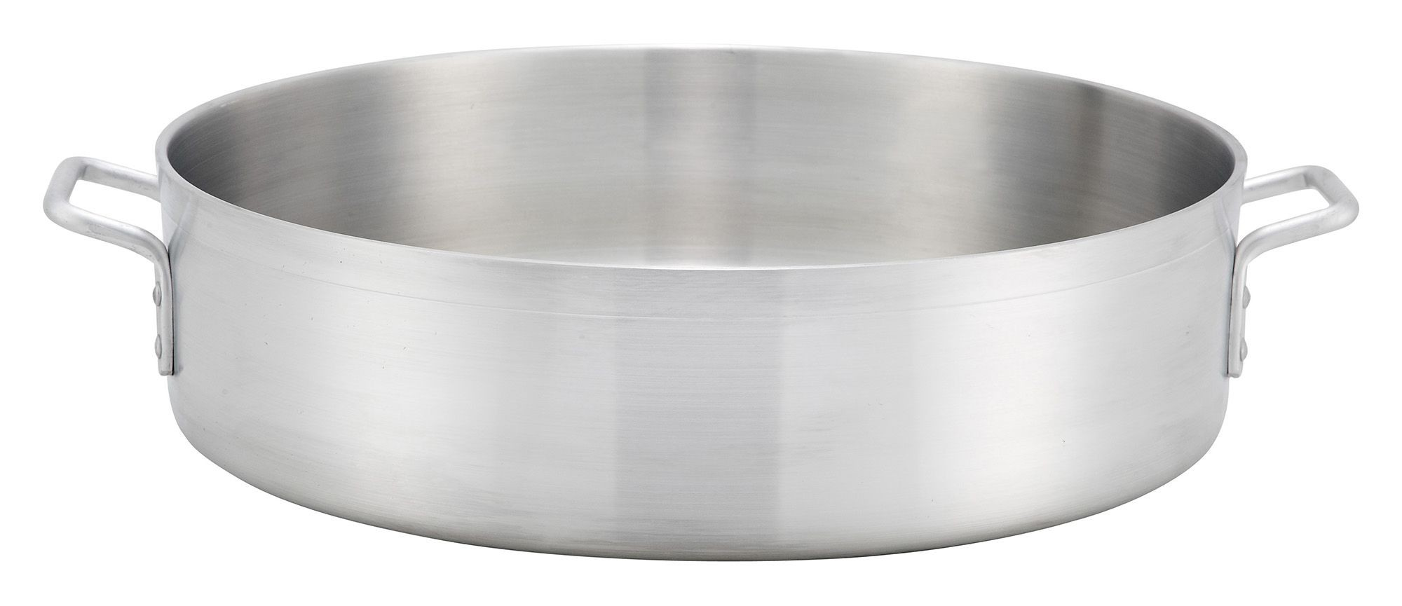 Precision Extra Heavy Weight Aluminum Brazier 40 Qt.