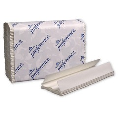 Preference C-Fold Paper Towels, 10 1/10 x 13 1/5, White, 200/Pack