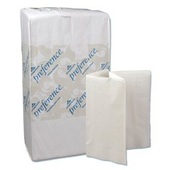 Preference Dinner Napkins, 1/8-Fold, 3-Ply, 17 x 17, White, 200/Pack