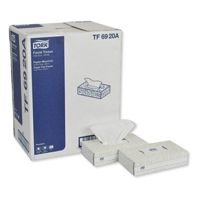 Premium Facial Tissue, 2-Ply, White, 100 Sheets/Box, 30 Boxes/Carton