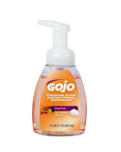 Premium Foam Antibacterial Handwash, Pump, Fruit Scent, 7.5 Oz
