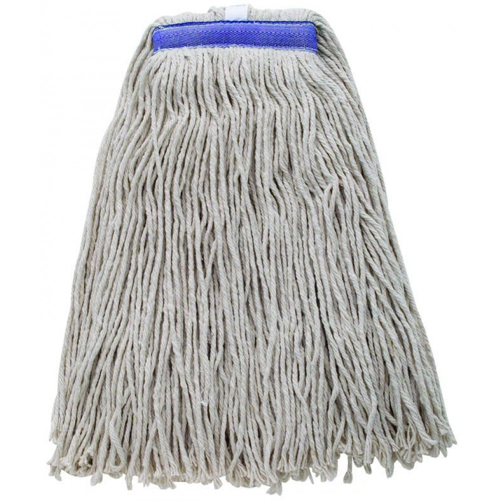 Premium Mop Head White Yarn, Cut Head 600g, 24 oz.