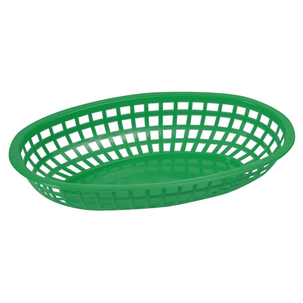 Premium Oval Basket - Shining Green