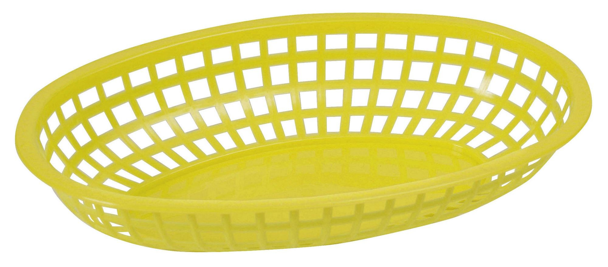 Premium Oval Basket - Sunshine Yellow