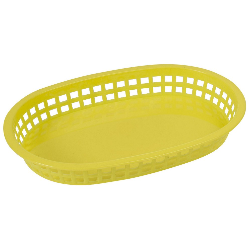 Premium Oval Platter Basket - Sunshine Yellow