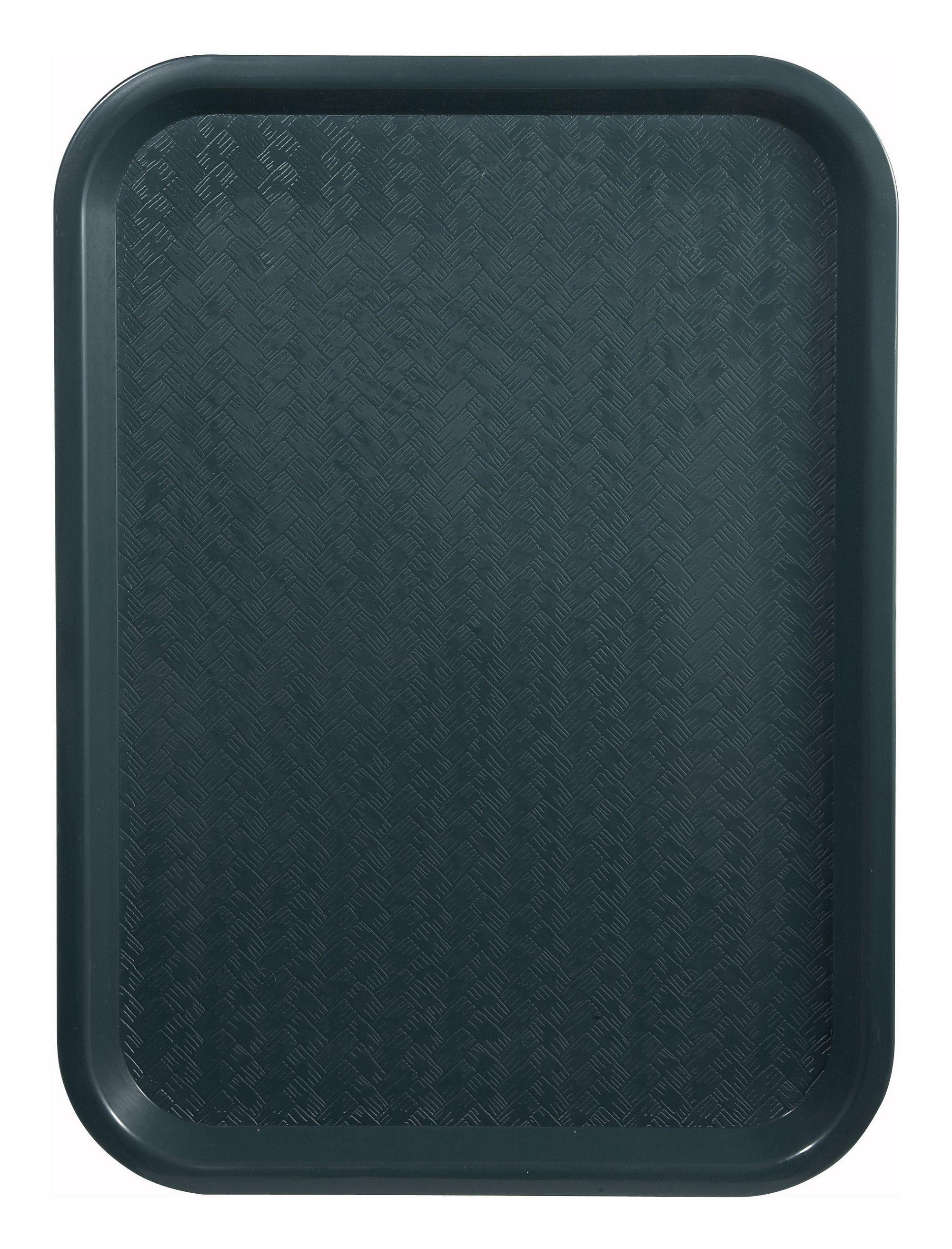 "Winco FFT-1418G Green Plastic Fast Food Tray 14"" x 18"""