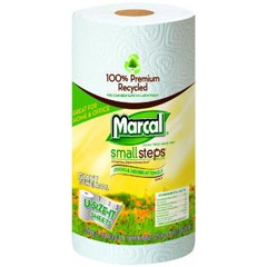 Premium Recycled Giant Roll Towels, 11x5-7/10, Roll Out Dispenser Case, 140/Roll