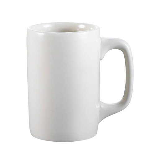 CAC China PRM-12-W Prime Straight Mug 11 oz.