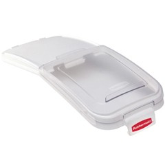 ProSave Bin Replacement Lid & Scoop, 12 1/10w x 29d x 1 9/10h, Clear