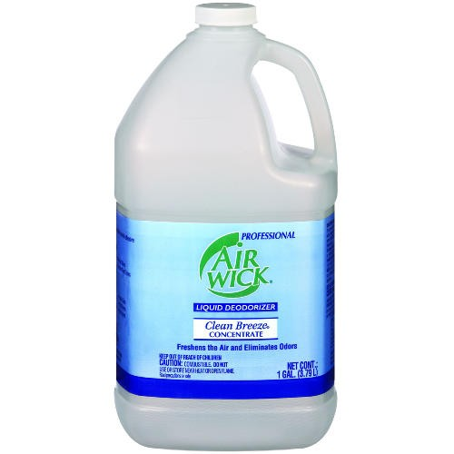 Professional AIR WICK� Liquid Deodorizer Concentrated Clean Breeze� Use dilution 1:24 (5 oz./gal.)
