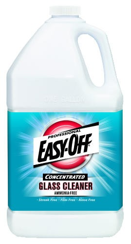 Professional EASY OFF� Glass Cleaner Concentrate, Use dilution 1:10 (13 oz./gal.).