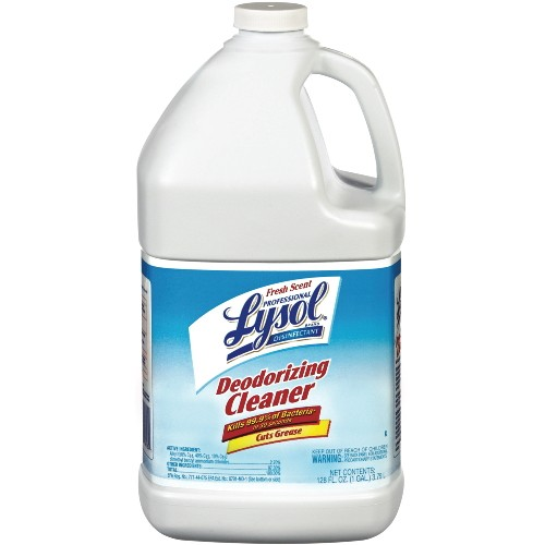 Professional LYSOL® Disinfectant Deodorizing Cleaner Concentrate, Fresh Scent