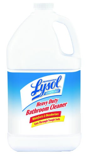 Lysol Disinfectant Heavy-Duty Bathroom Cleaner Concentrate, 1 Gallon, 4/Carton