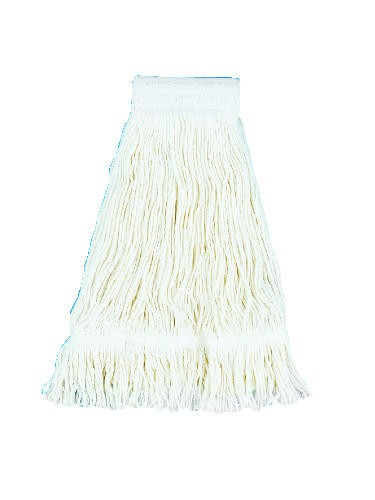 Professional Loop Mop Premium Saddleback Head, 24 Oz, Rayon