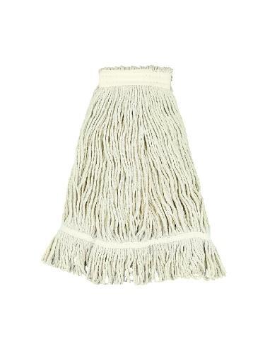 Pro Loop Web/Tailband Wet Mop Head, Cotton