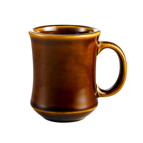 CAC China PM-7-C Provo Round Mug Carmel Brown 7 oz.