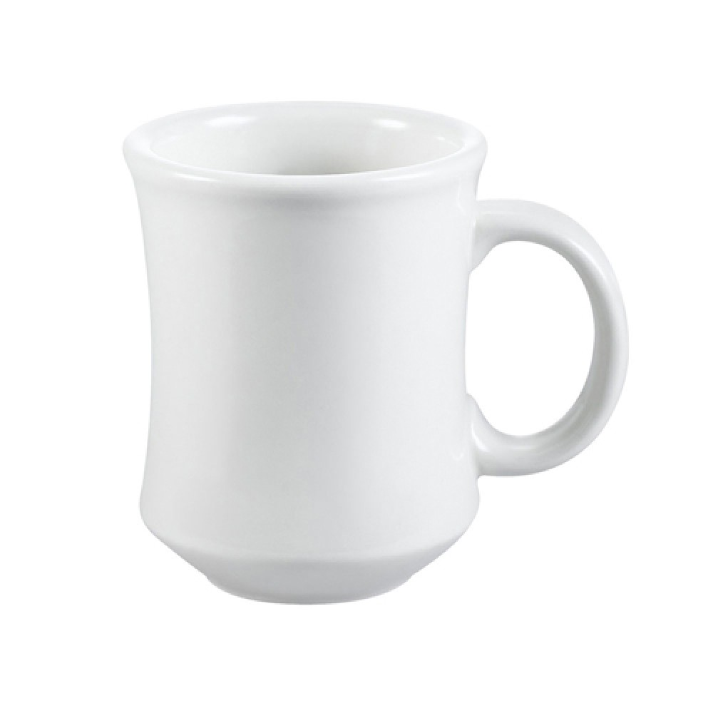 CAC China PM-7-W Provo Round Mug White 7 oz.