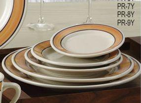 """Yanco PR-6Y Puerto Rico 6-5/8"""" Plate"""