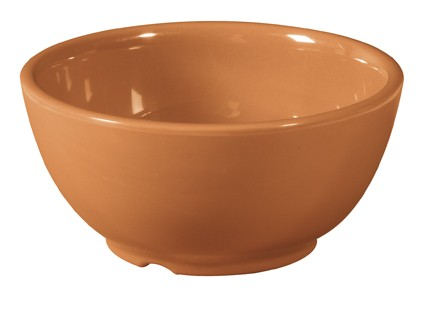 G.E.T. Enterprises B-45-PK Diamond Harvest Pumpkin Melamine 10 oz. Bowl