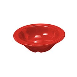Thunder Group cr5044pr Pure Red Melamine 4 oz. Salad Bowl 4-3/4""