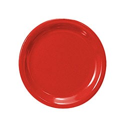 Pure Red Melamine 7 1/4