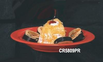 Thunder Group CR5809PR Pure Red Melamine 13 oz. Salad Bowl