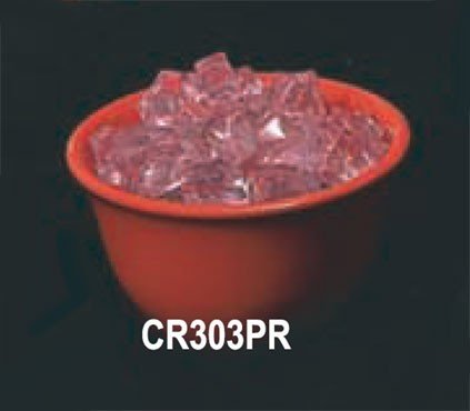 Thunder Group CR303PR Pure Red Melamine 7 oz. Bouillon Cup