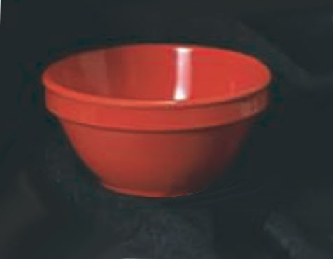 Thunder Group CR313PR Red Melamine 8 oz. Bouillon Cup