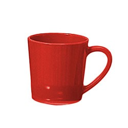 Thunder Group CR9018PR Pure Red Melamine 7 oz. Mug/Cup 3-1/8""