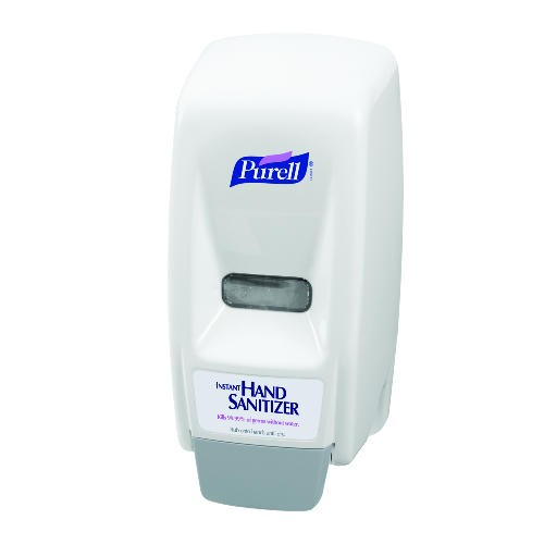Purell 800 Series Dispenser, 5 X 4.5 X 11, Wall Mount, White/Gray