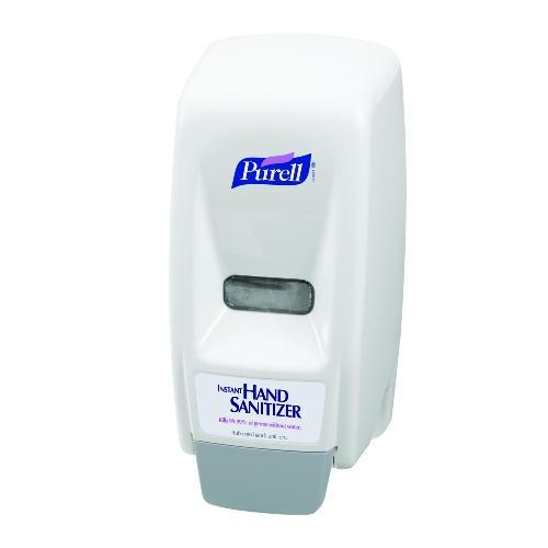 Purell 800 Series Dispenser, 5 X 4.5 X 11, Wall Mount, White/Gray