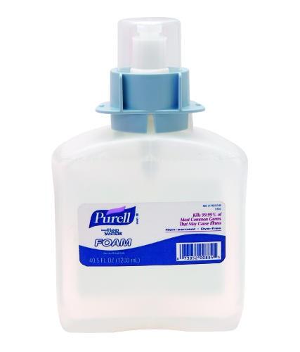 Purell TFX Hand Sanitizer Foam Refills, 1200 ml 3/Carton