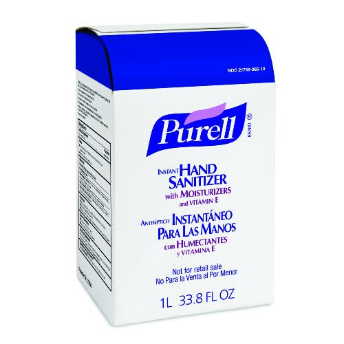 Purell Instant Hand Sanitizer Dye-Free, 1000 ml
