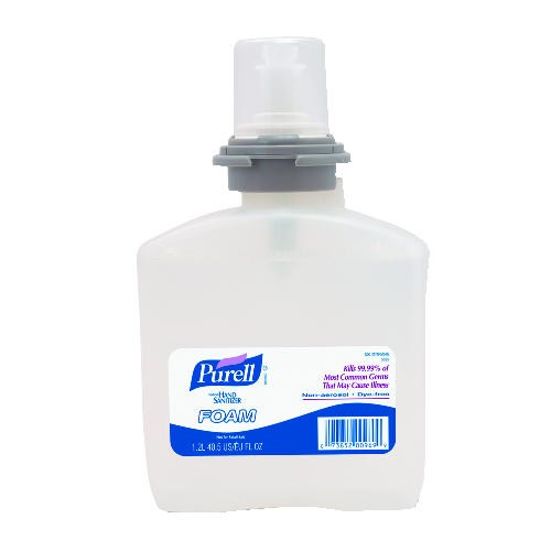 Purell Advanced TFX Foam Instant Hand Sanitizer Refill, 1200 ml