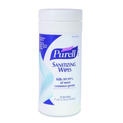 Purell Sanitizer Wipe, 7 X 8