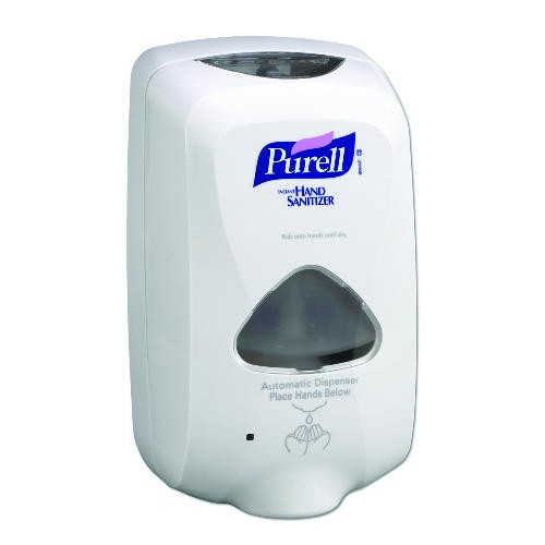 Purell TFX Touch-Free Dispenser, Gray Plastic 1000 ml