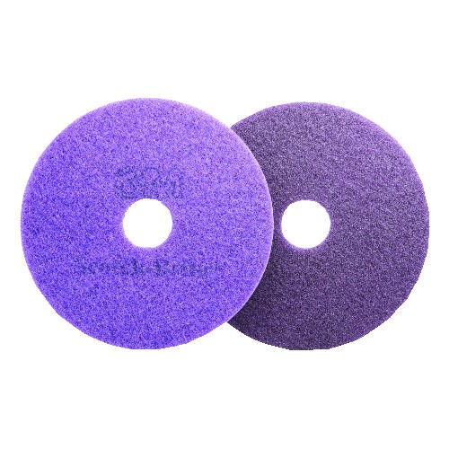 Purple Diamond Floor Pads, 17