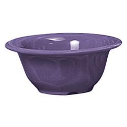 "Thunder Group CR5510BU Purple Melamine 10 oz. Soup Bowl 5-3/8"""