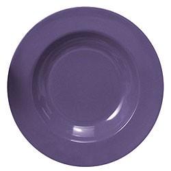 "Thunder Group CR5811BU Purple Melamine 16 oz. Pasta Bowl 11-1/4"""