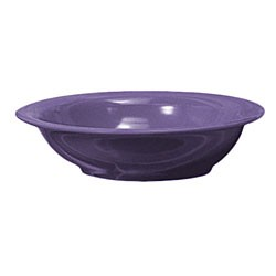Thunder Group CR5716BU Purple Melamine 16 oz. Soup Bowl 7-1/2""
