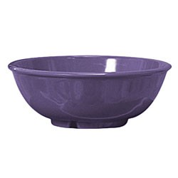 Purple Melamine 24 Oz. Salad Bowl - 7-1/2