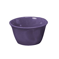 Thunder Group CR303BU Purple Melamine 7 oz. Bouillon Cup 4""