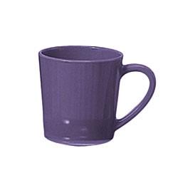 "Thunder Group CR9018BU Purple Melamine 7 oz. Mug/Cup 3-1/8"""