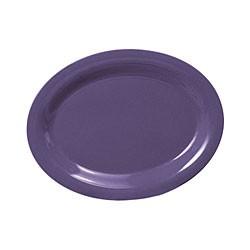 """Thunder Group CR209BU Purple Melamine Oval Platter, 9-1/2"""" x 7-1/4"""""""