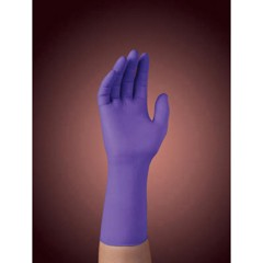 "Professional Purple Nitrile Xtra Exam Gloves, Large, 12"" Length, 50/Box"