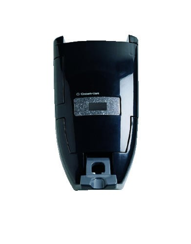 Push Soap Dispenser, Wall Mount, 8 L or 3.5 L, Black